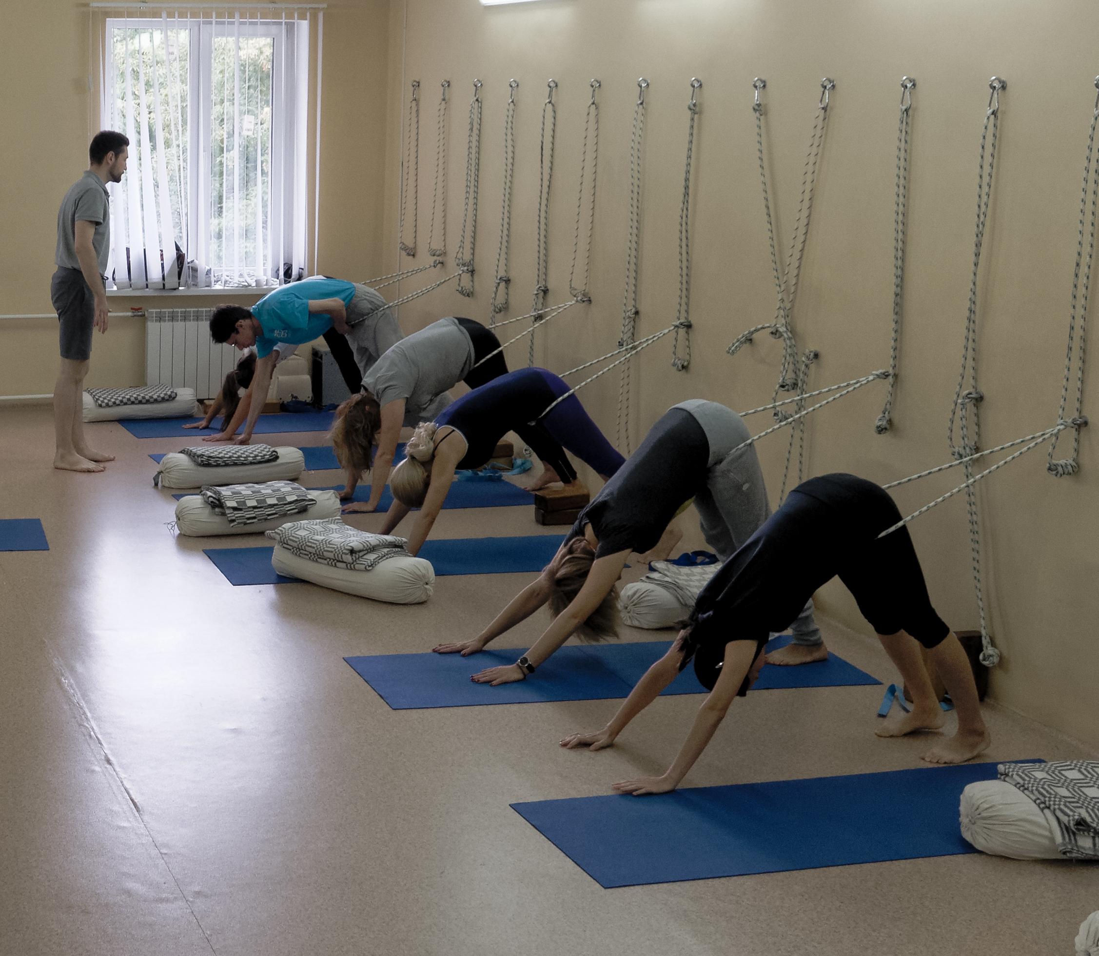 Йога центр на горького